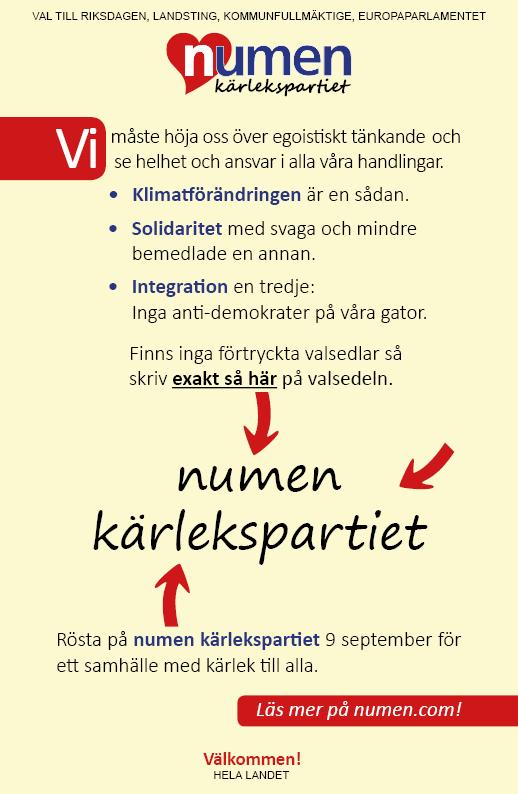 numen_kärlekspartiet_flygblad
