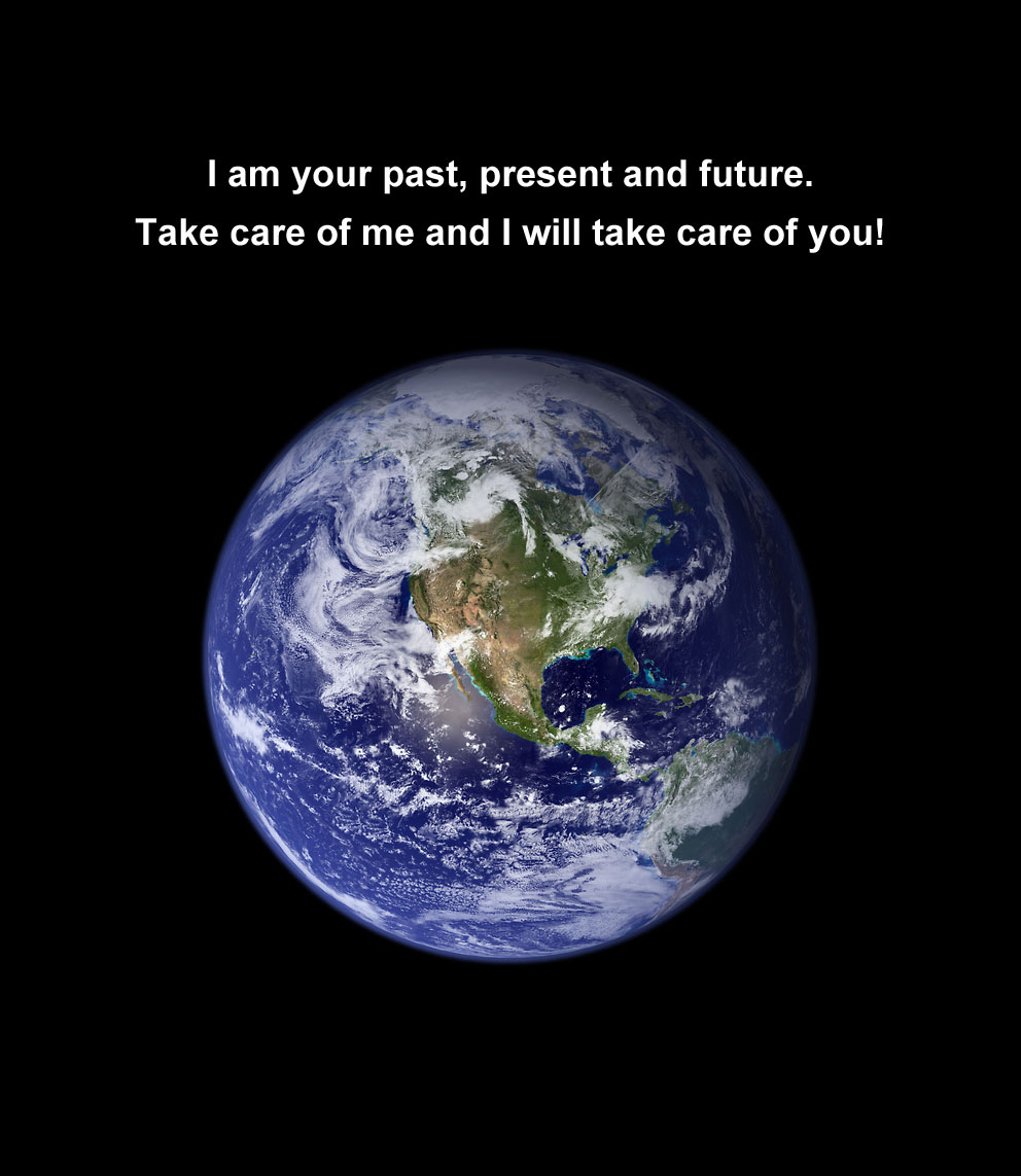 I am your past, present and future