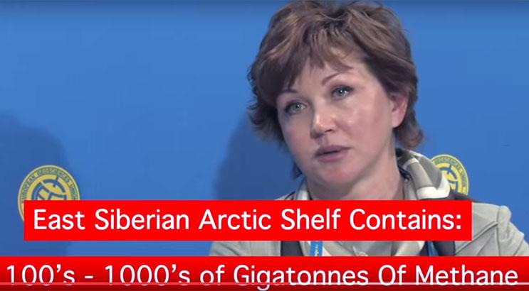 Shakhova 100 gigatons Methane