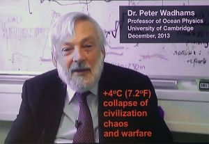Peter Wadhams 4 degrees